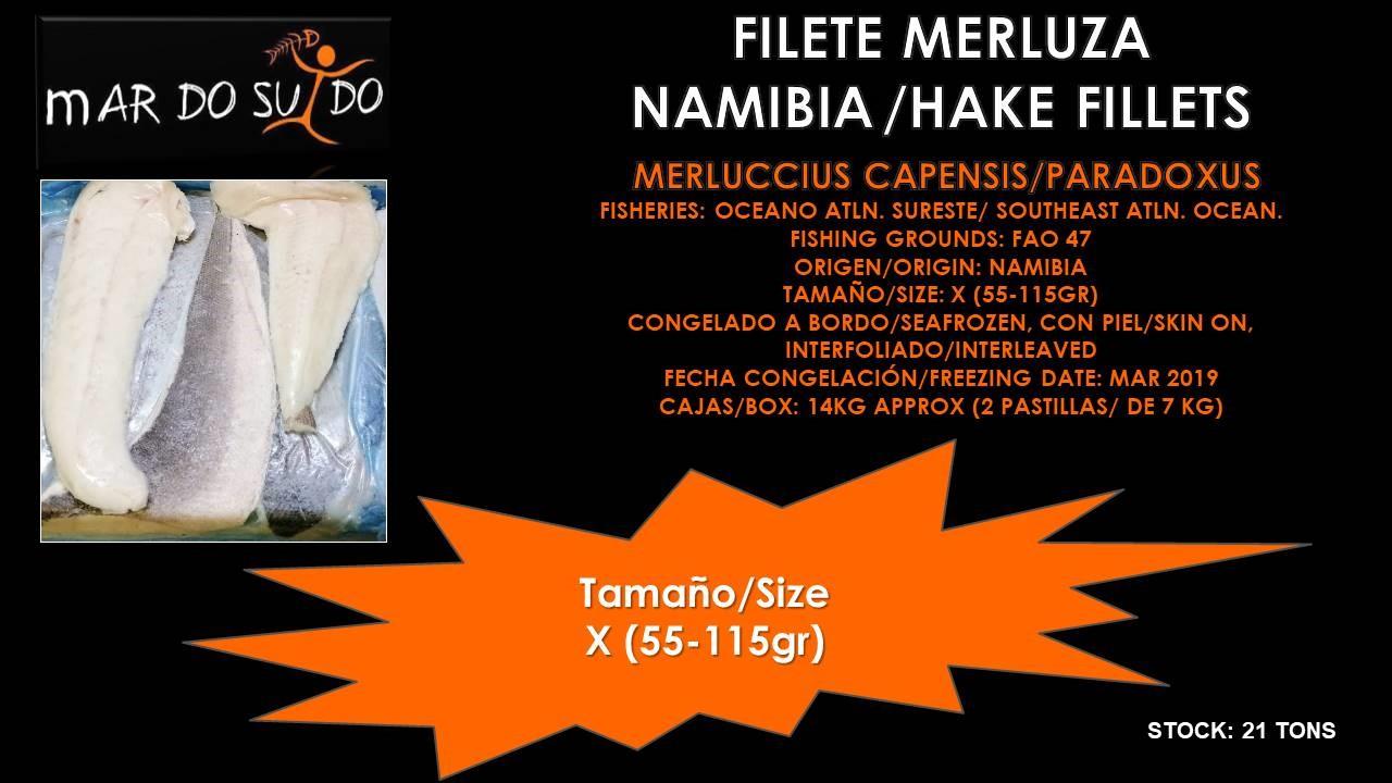 Oferta Destacada de Filete de Merluza Namibia