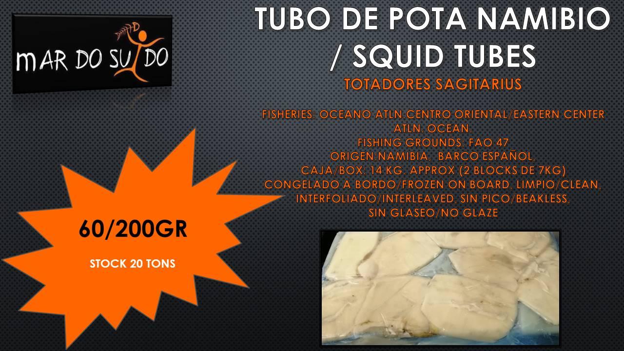 Oferta Destacada de Tubo Pota Namibio