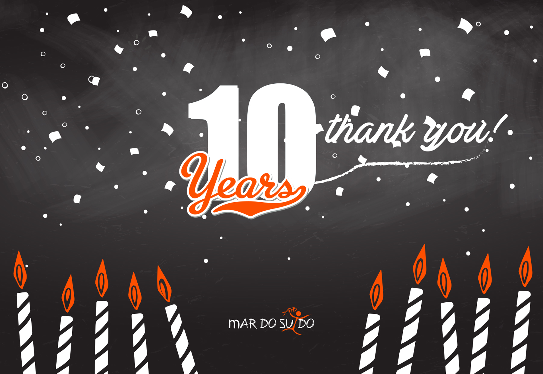 We Turn 10 years old!
