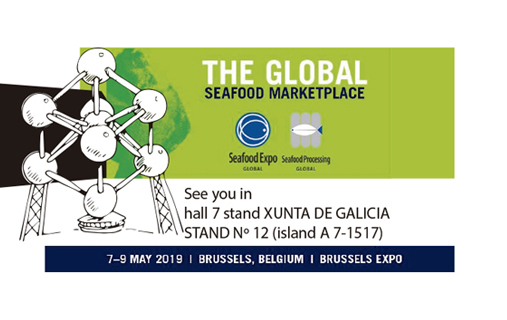 Come and visit us at Seafood Brussels 2019 !!!