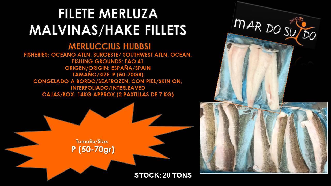 Oferta Destacada de Filete de Merluza Malvinas